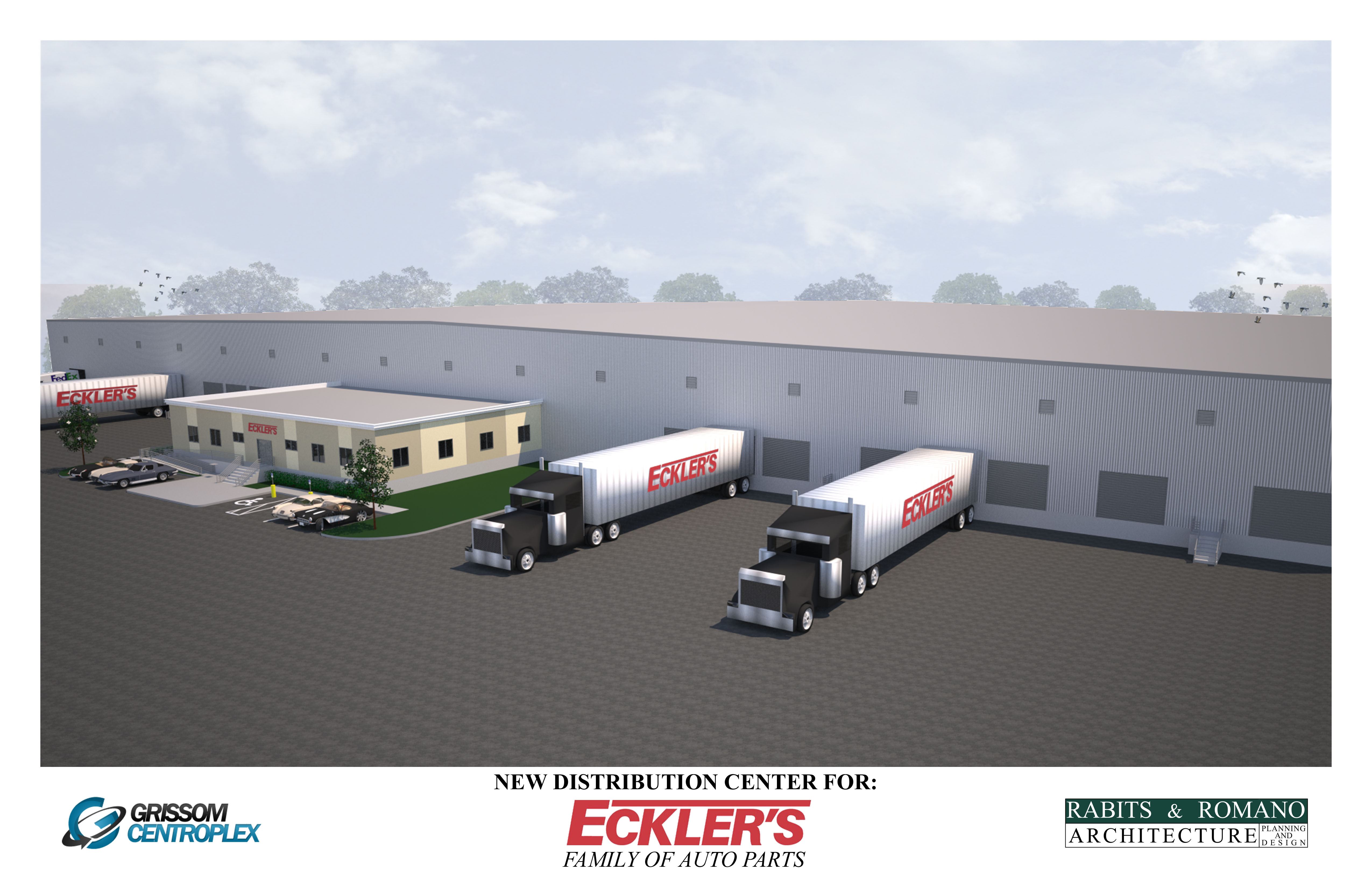 Ecklers Automotive: Eckler's Selects Rabits & Romano Architecture To Design